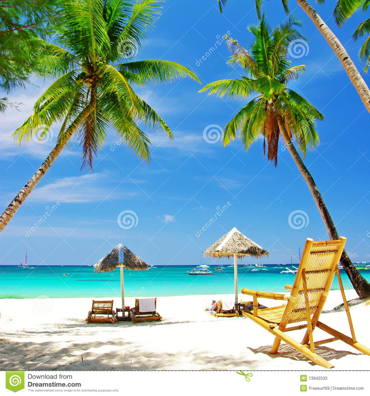 Tropical holidays stock image Image of holidays island