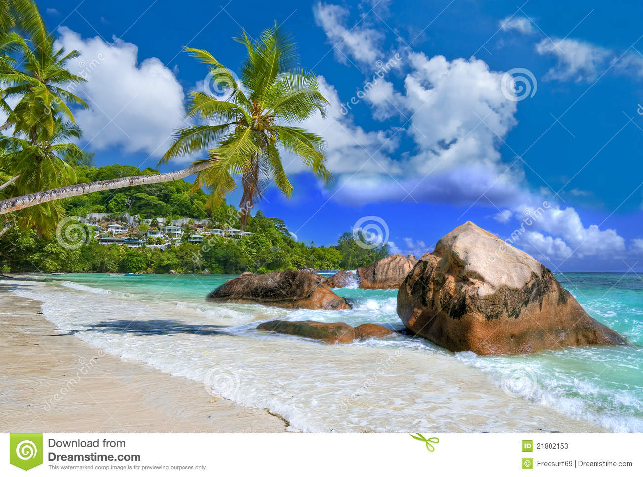 Tropical holidays stock image Image of resort recreation