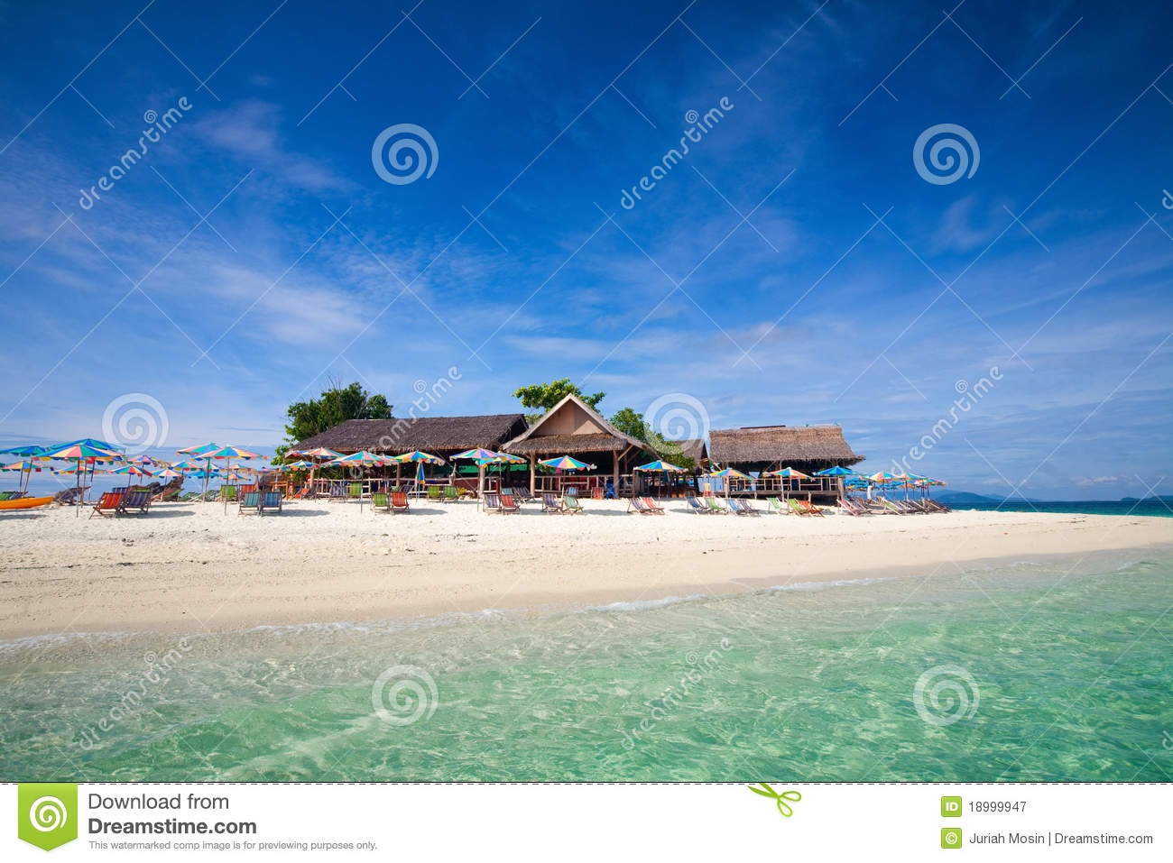 Tropical Island Getaway Royalty Free Stock Photography - Image ...