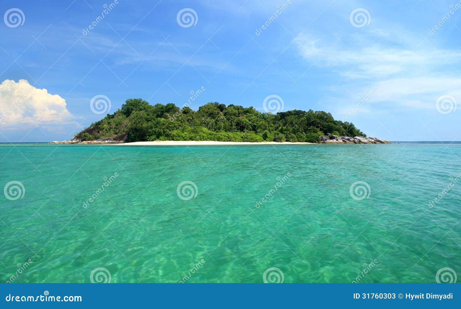 Tropical Island Getaways: Tropical Island, Getaway Paradise Stock Photos