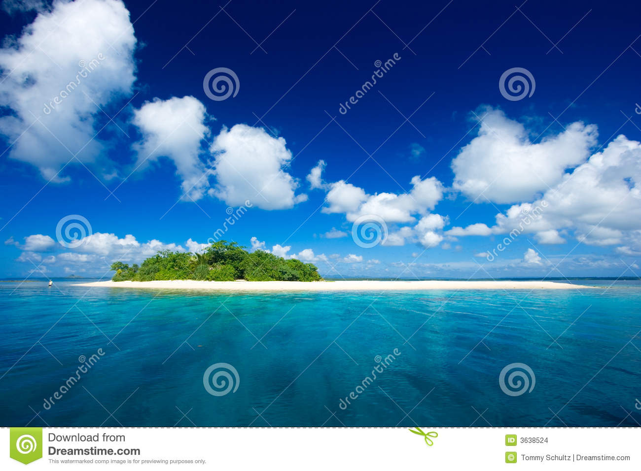 Tropical Island Beach Ambience Sound: Tropical Island Paradise Stock Images