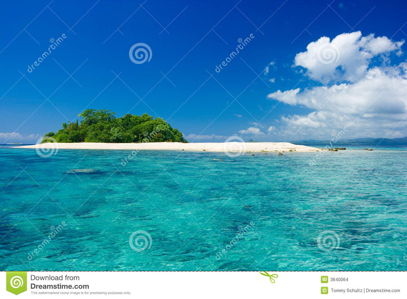 Tropical Island Vacation Paradise Stock Images - Image ...