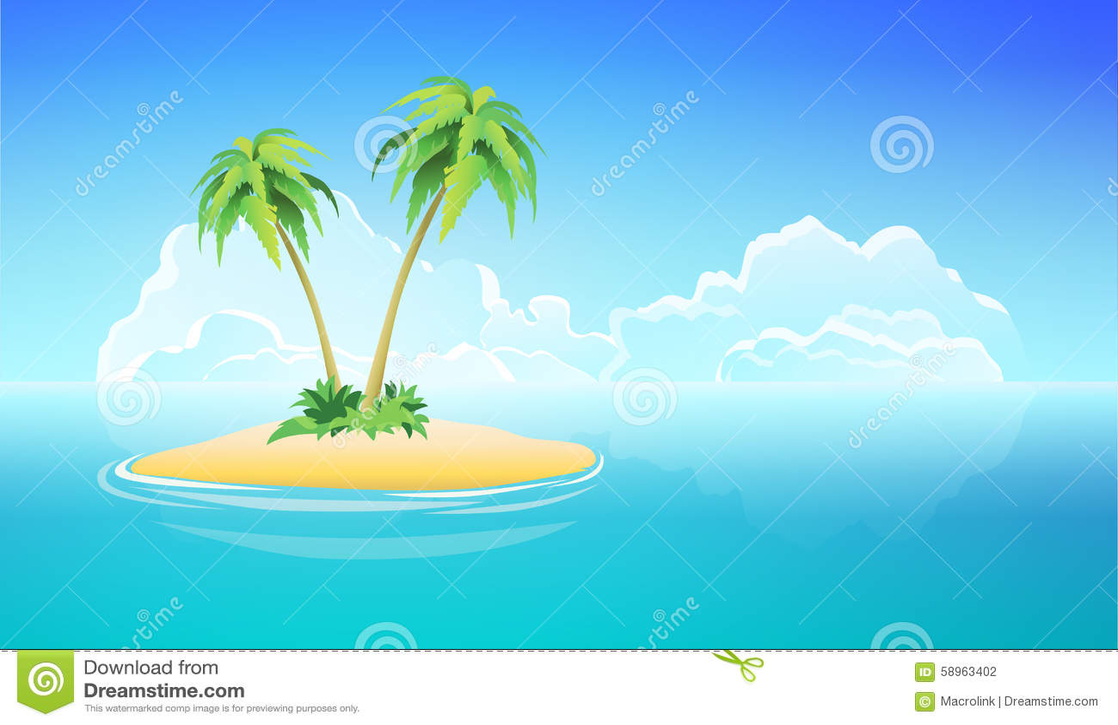 vector scenery tropical - photo #34