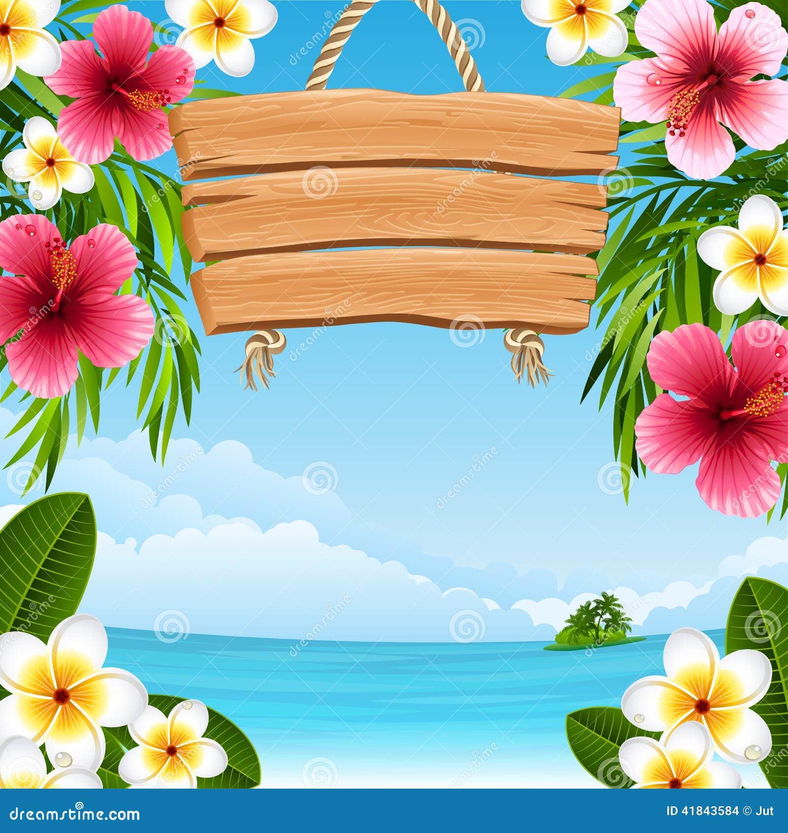 vector scenery tropical - photo #40