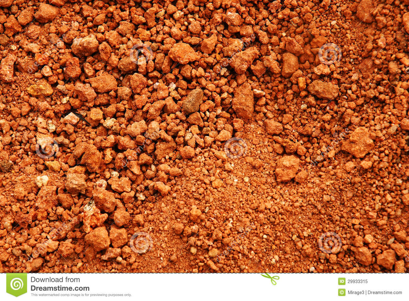 Red earth or soil background royalty free stock photo image