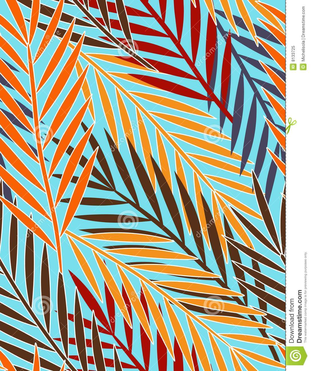 Tropical Leaves - Seam...