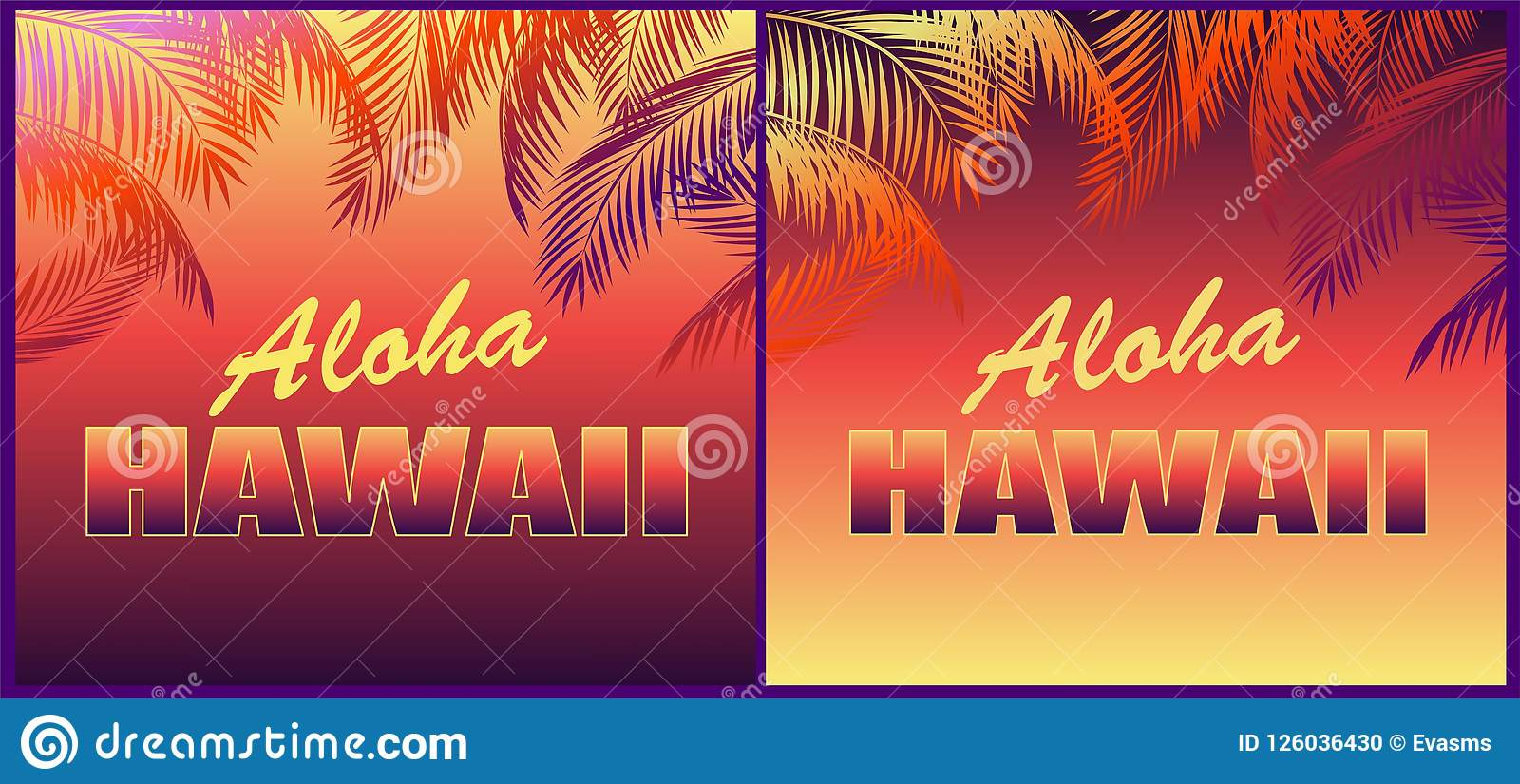 tropical neon backgrounds with floral aloha hawaii lettering and