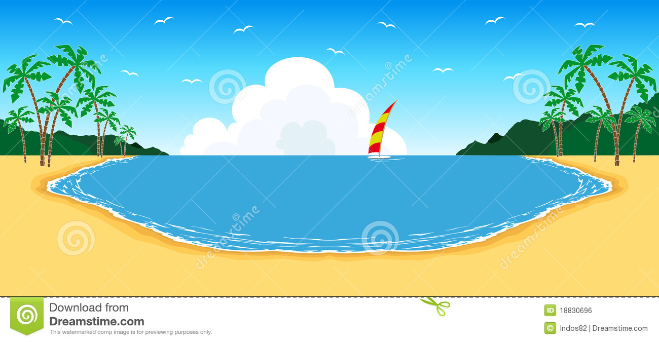 Free Beach Vacation Clipart