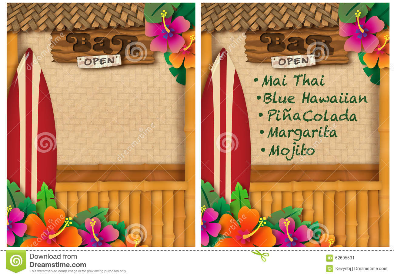 tropical party stock illustration  illustration of palm
