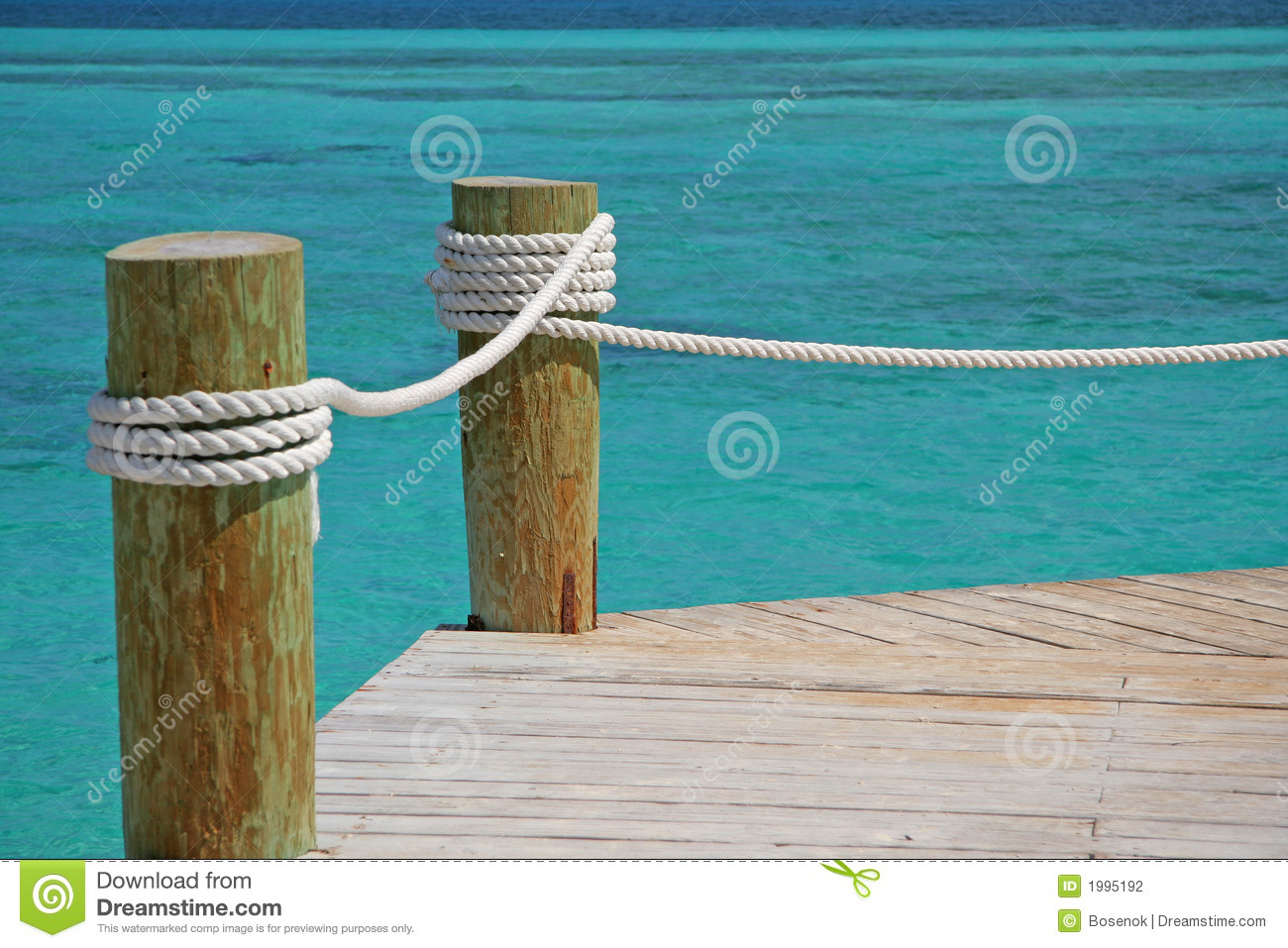 Tropical pier stock photo. Image of tropical, boat, water ...
