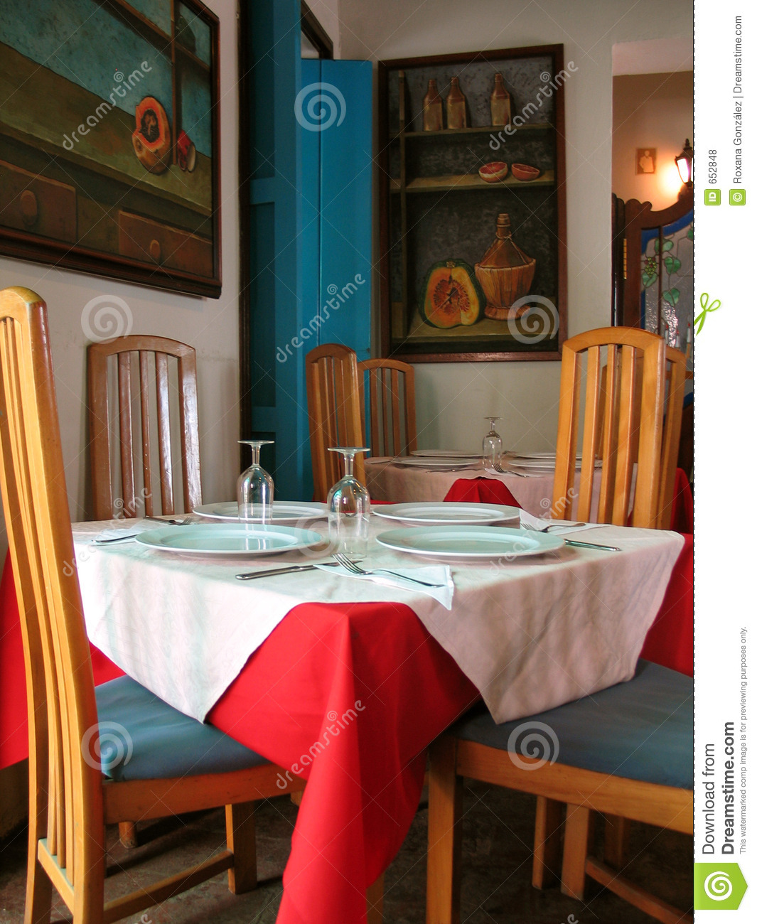 tropical restaurant interior royalty free stock photos - image: 652848