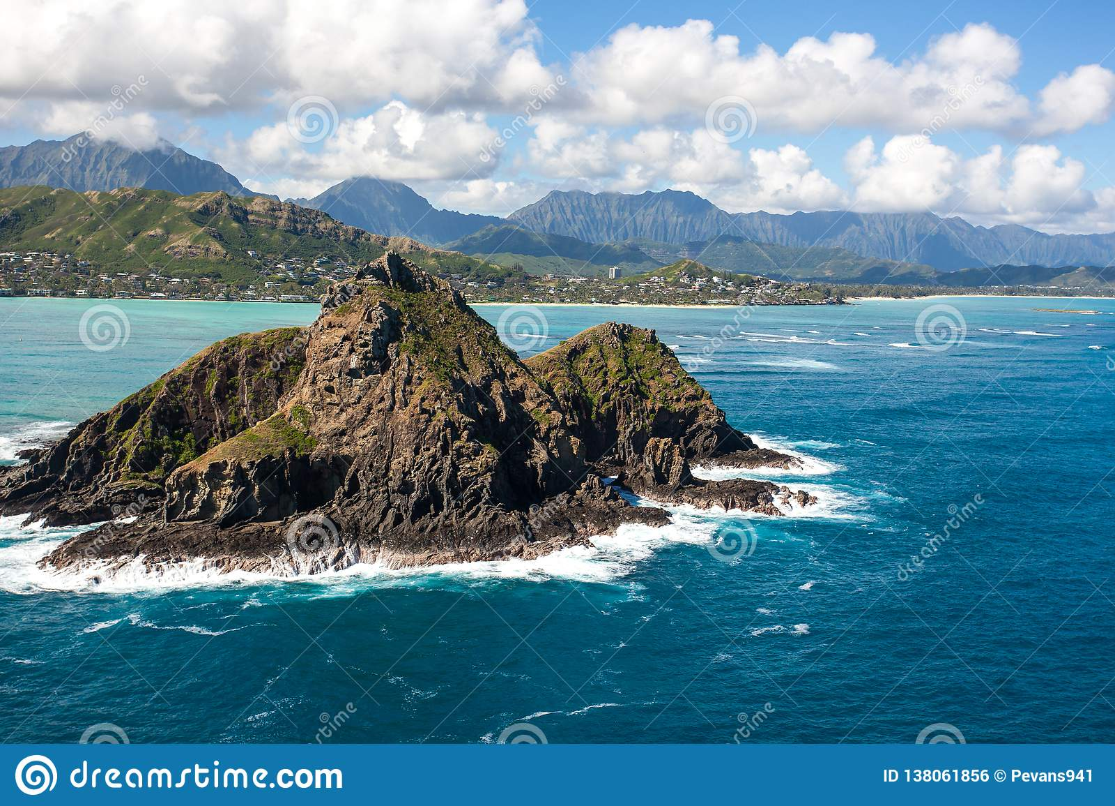 Tropical Scenic Kayaking At The Mokulua Islands Oahu Hawaii