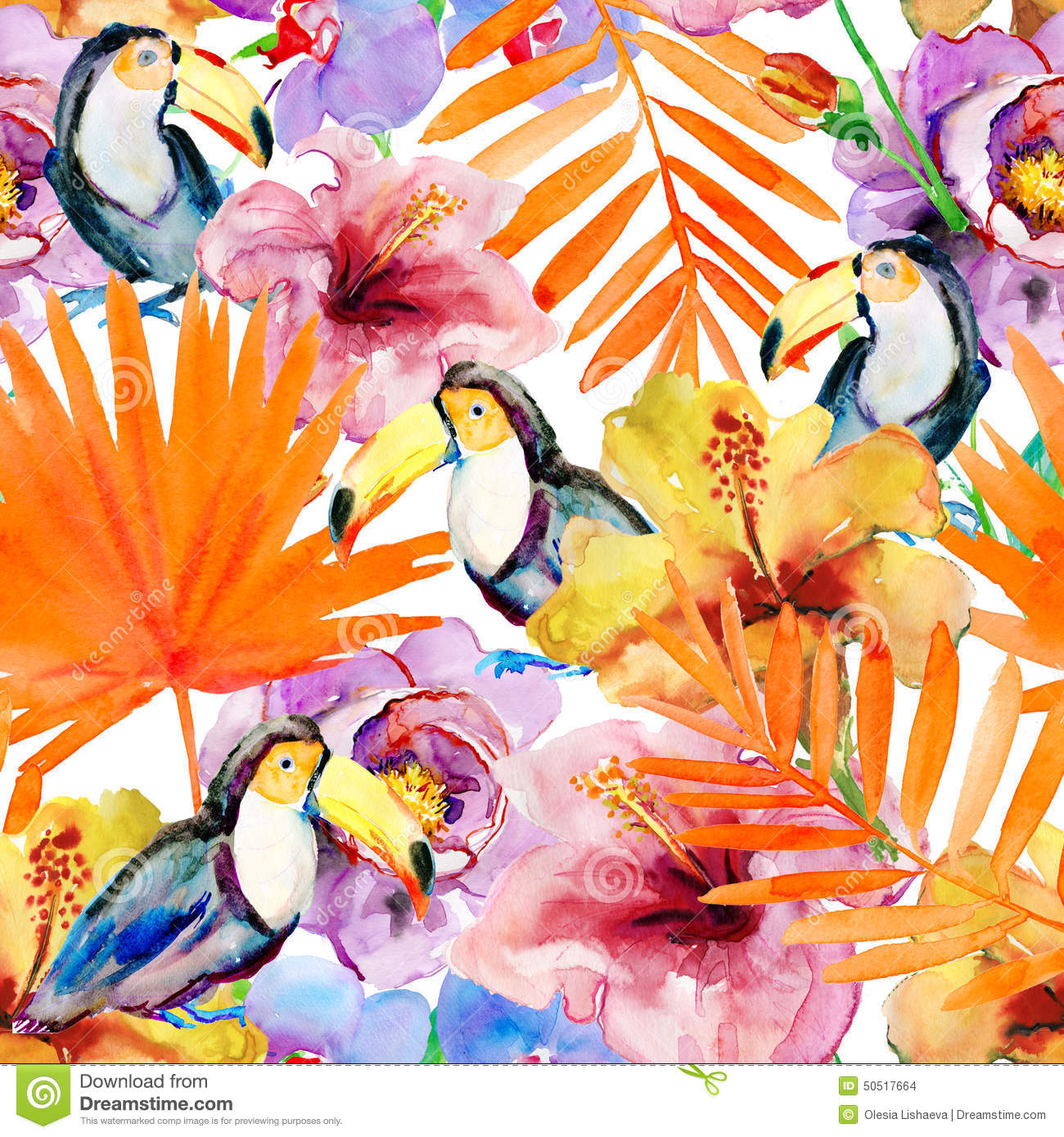 wallpaper tropical birds and foliage - photo #25