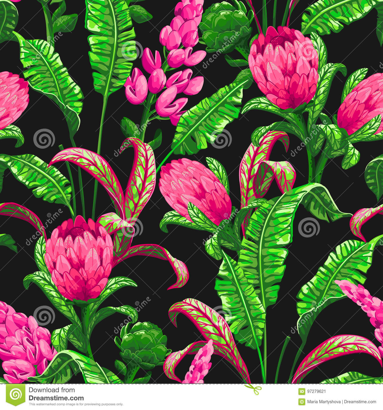 Tropical Seamless Pattern With Palm Leaves Stock Vector Illustration Of Green Flower 97279621 Find the greates flower wallpapers on pexels which are free to download and use as background images on your mac computer, macbook and windows computer. https www dreamstime com stock illustration tropical seamless pattern palm leaves flowers background vector jungle exotic flowers trendy style image97279621