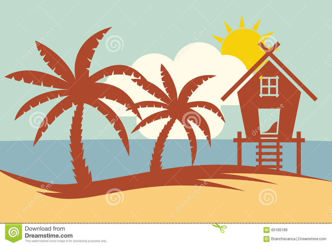 summer vector illustraitons - photo #25