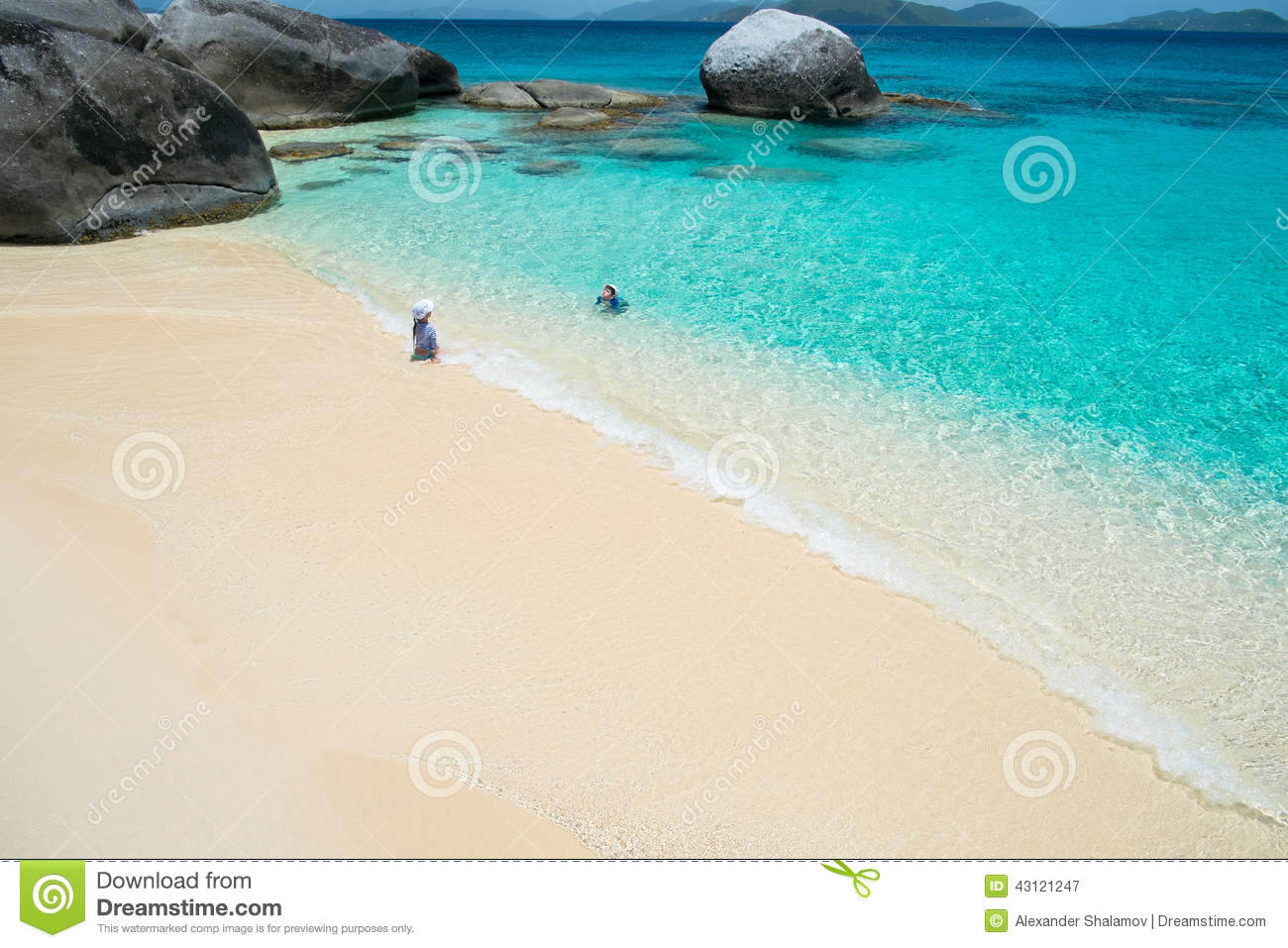 Tropical vacation stock photo image 43121247 for White sand beach vacations