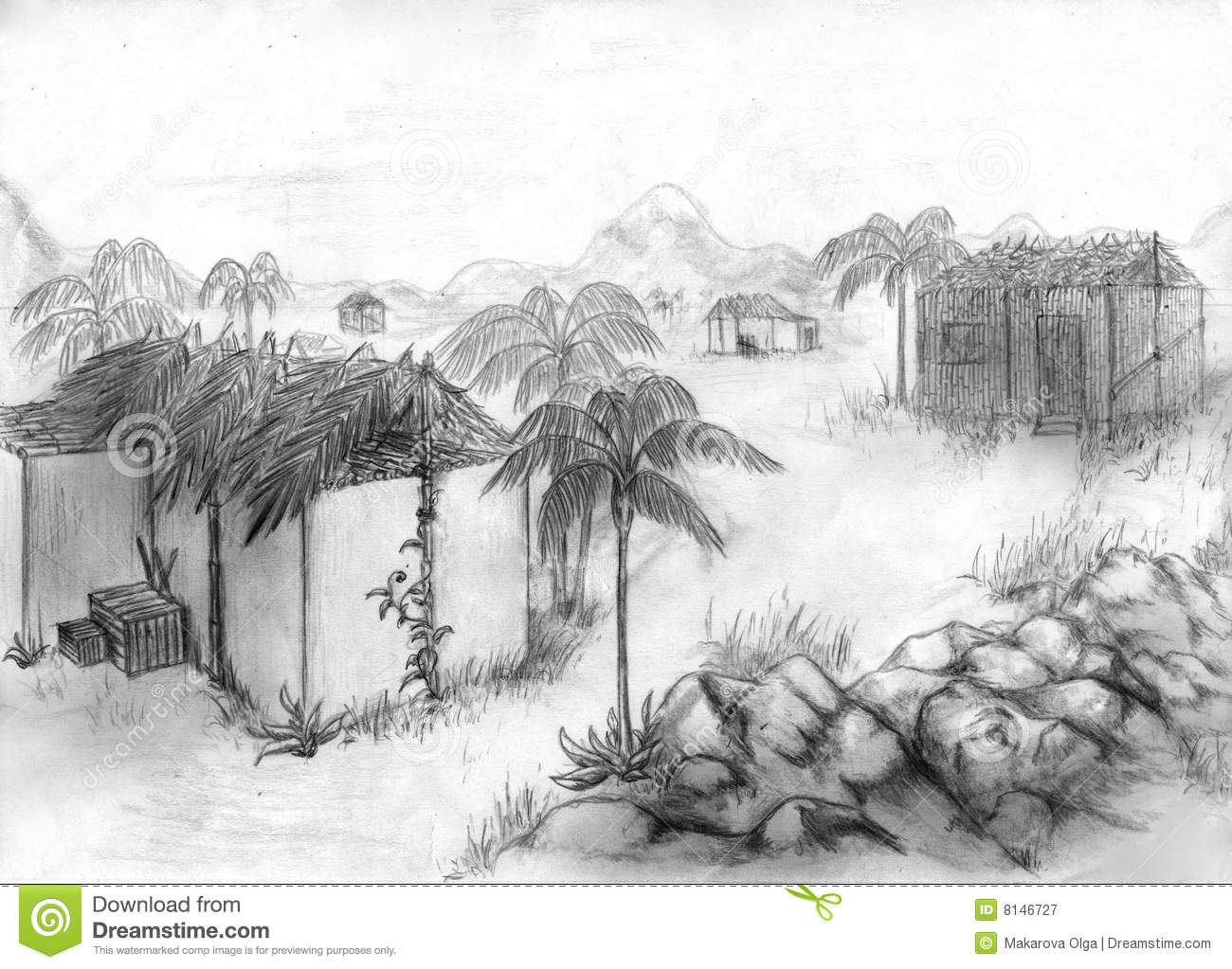 Misc Field Sketches besides Royalty Free Stock Photography Tropical Village Sketch Image8146727 further Henna Doodle moreover 2708339610 further Wave Storm 326908571. on beach scenery sketch