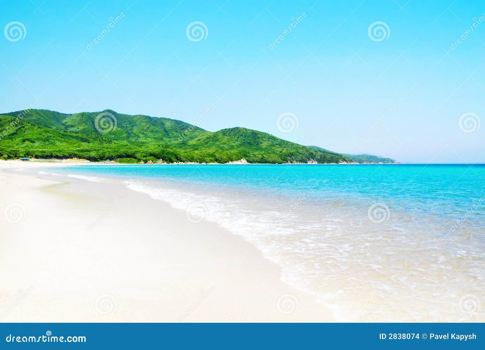Tropical White Sunny Beach