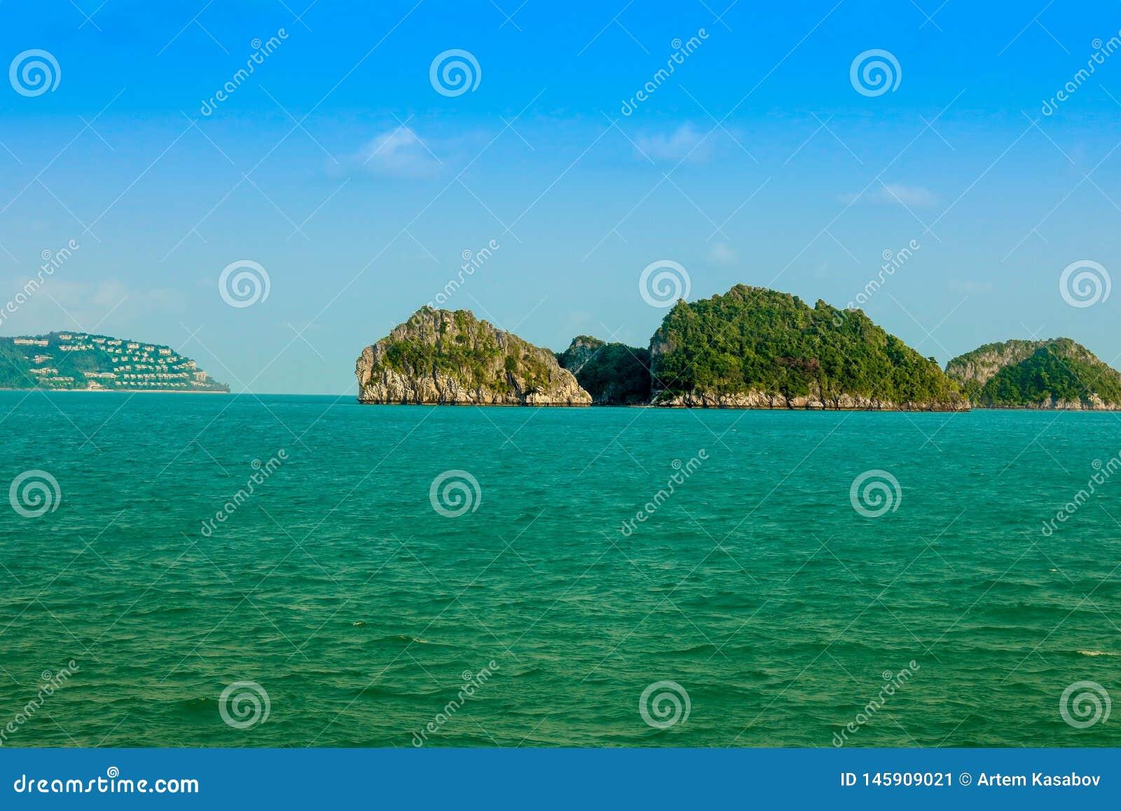 Tropikalne wyspy Thailand