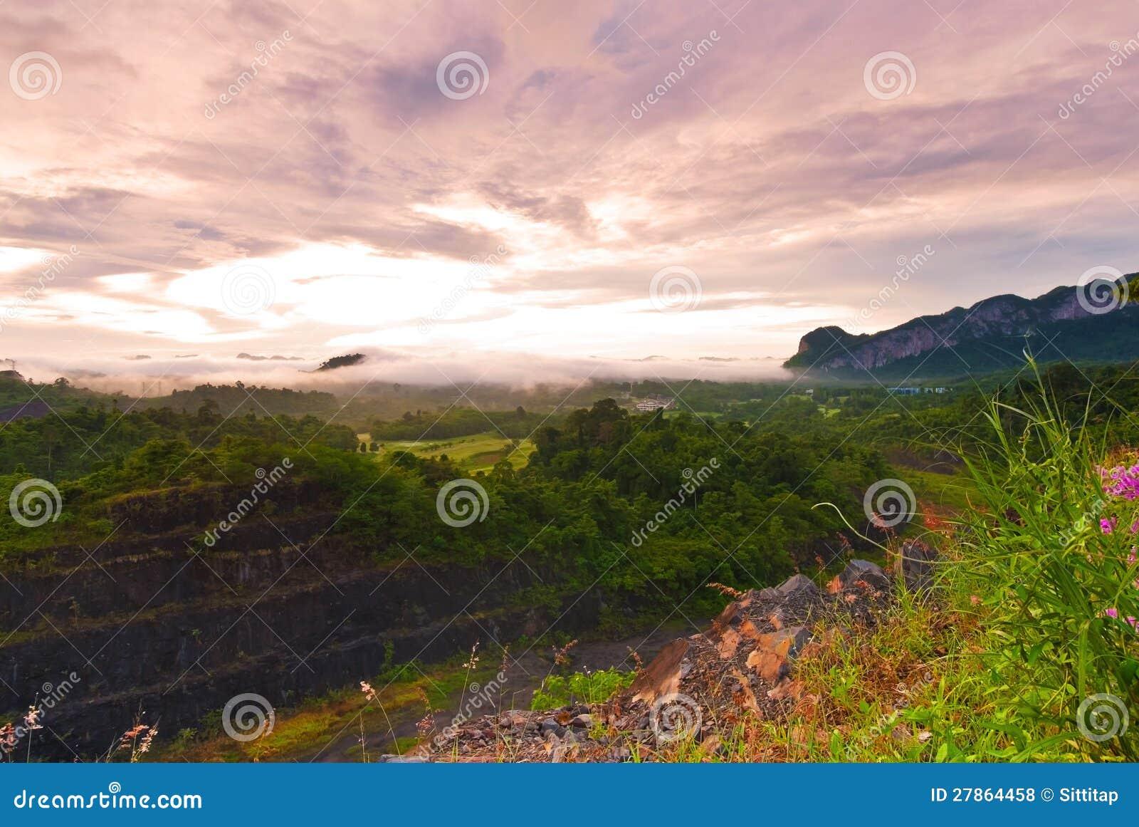 Tropikalni las tropikalny, Ratchapraph Park Narodowy