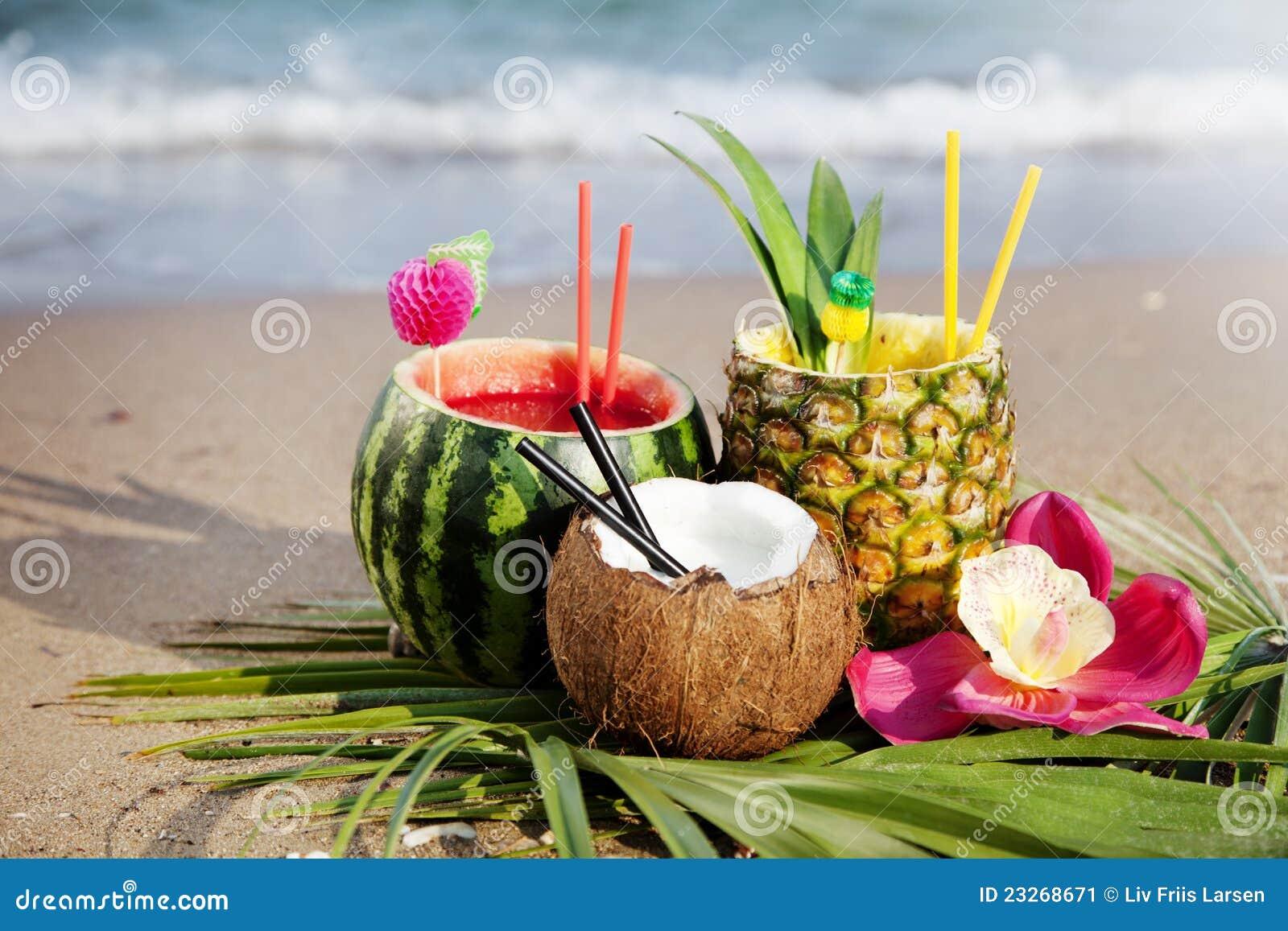 Tropische cocktails