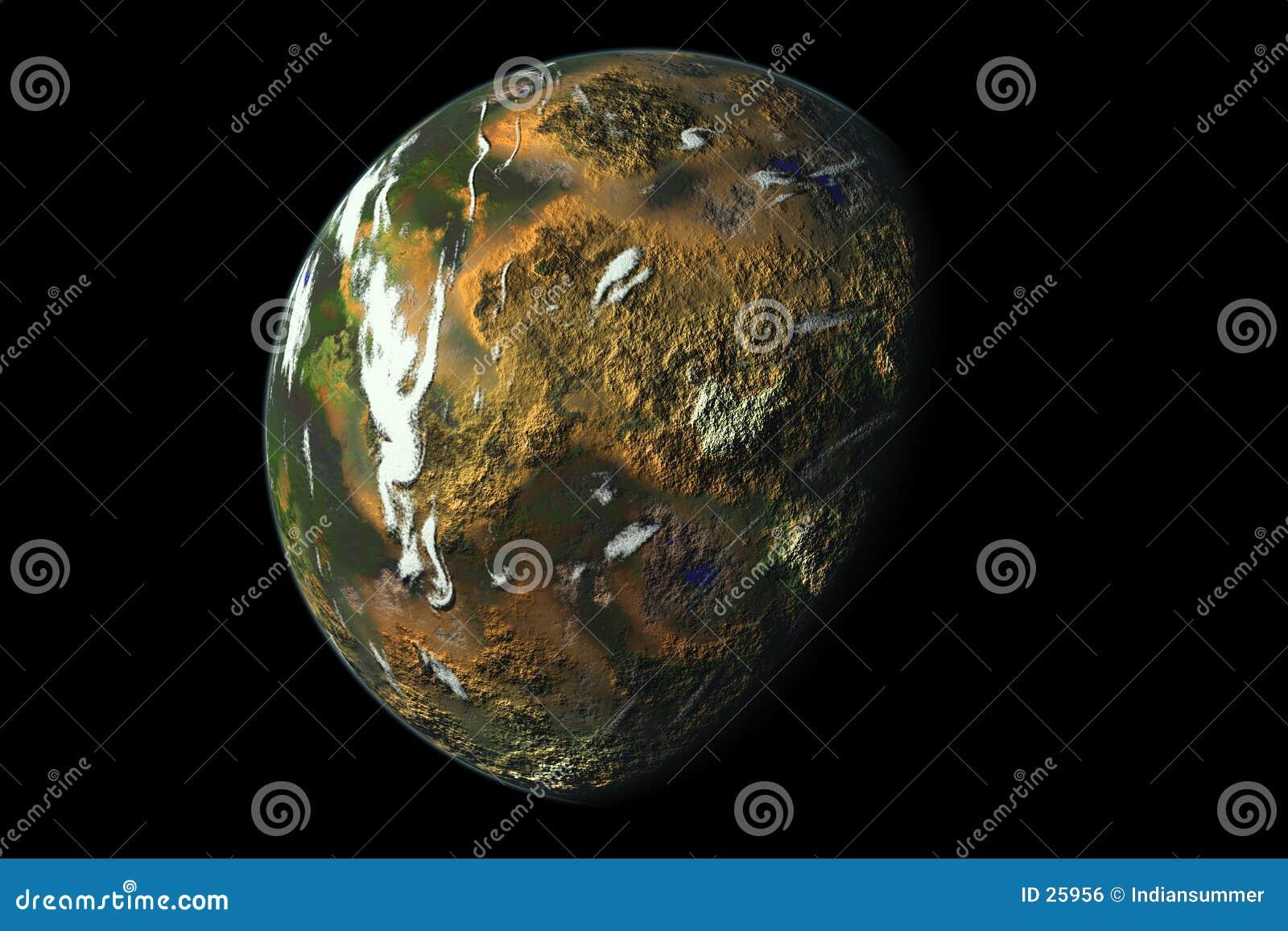 Tropischer Planet
