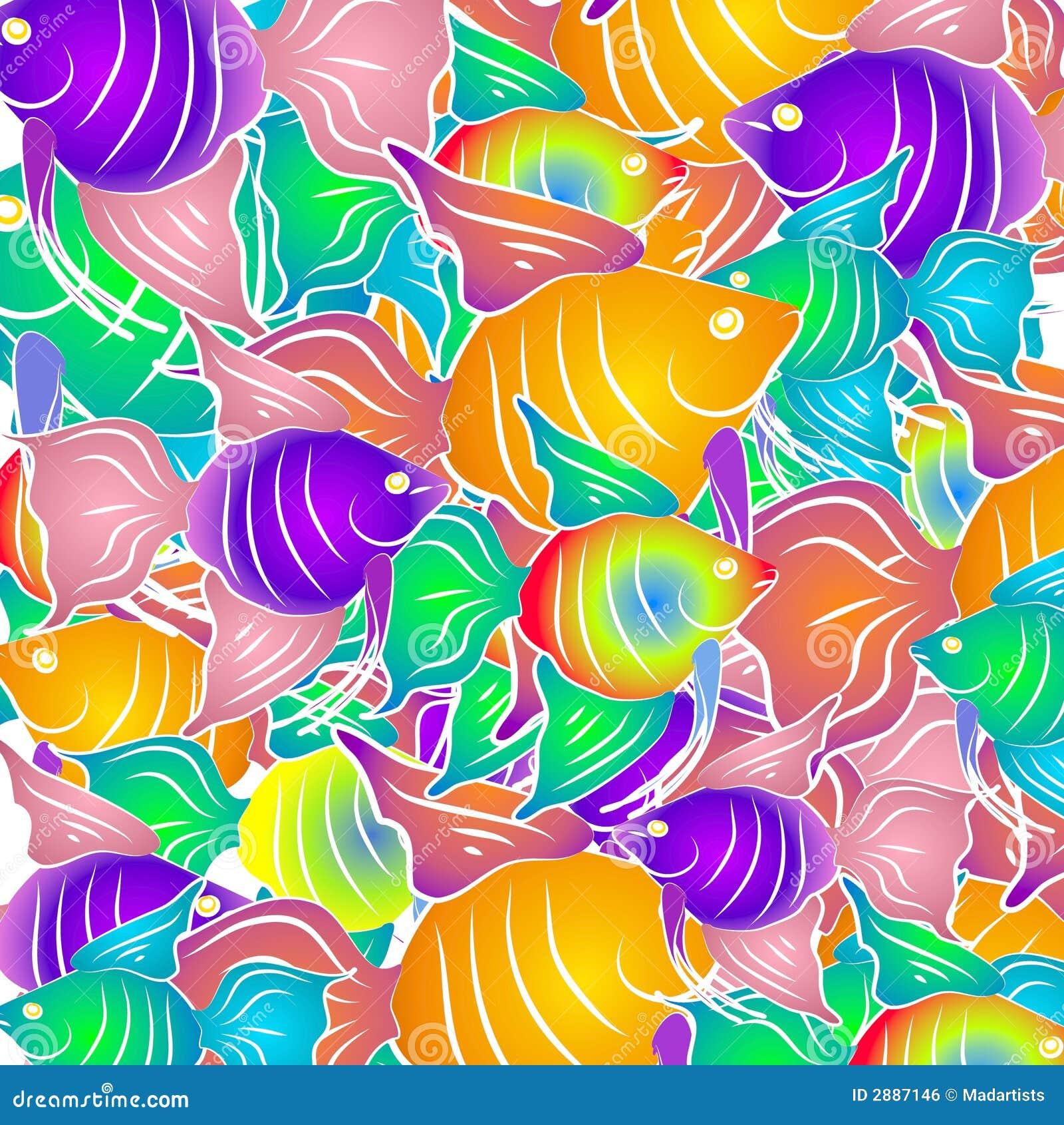 Tropisk bakgrundsfisk