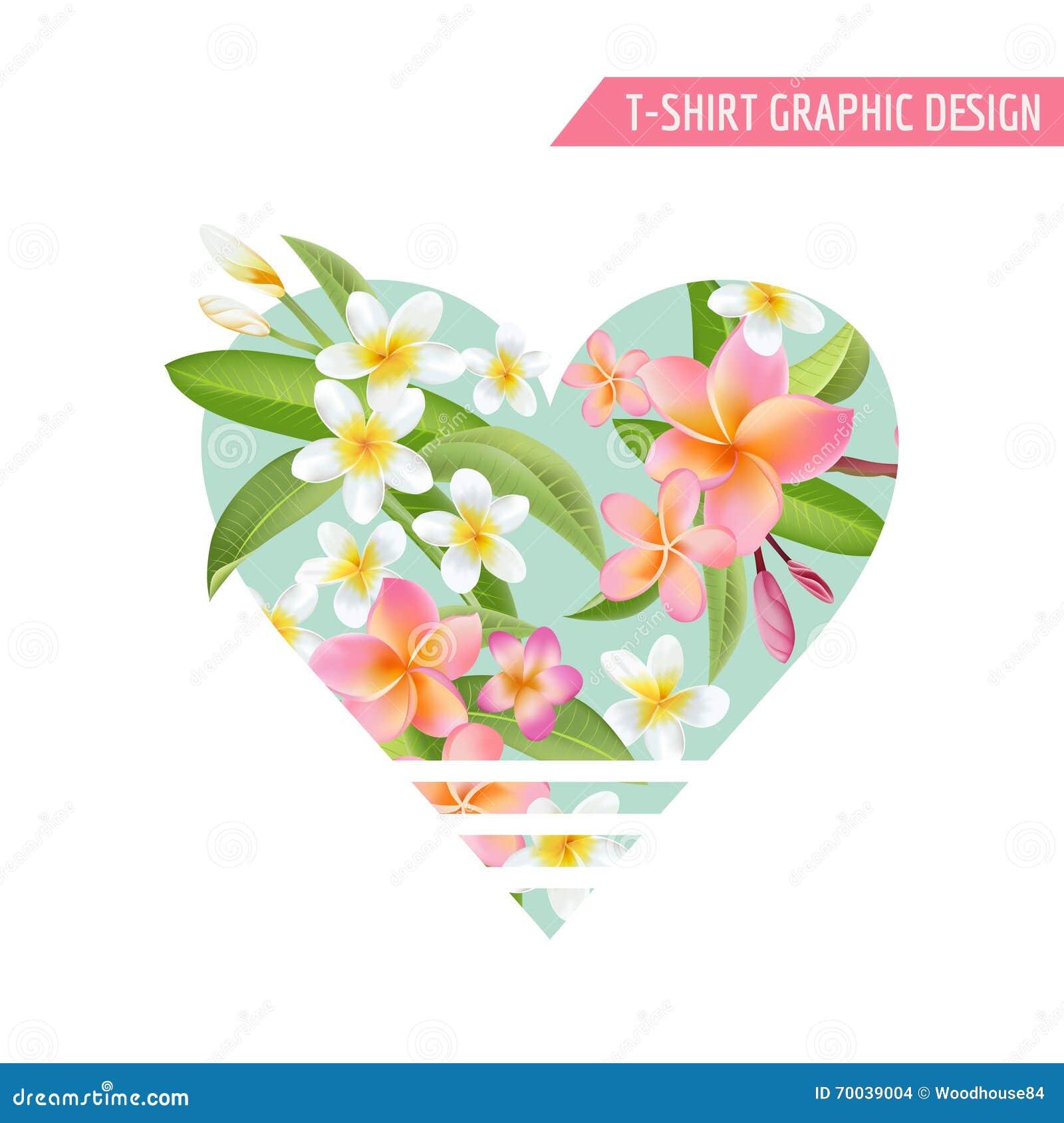 Tropiska blommaleaves Exotisk grafisk bakgrund
