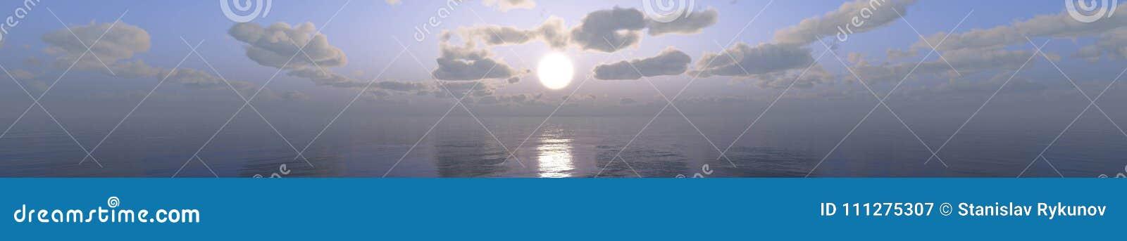 Tropiskt landskap, strand med palmträd på solnedgången