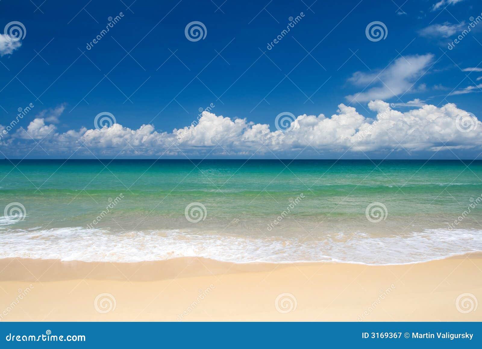 Tropiskt strandparadis
