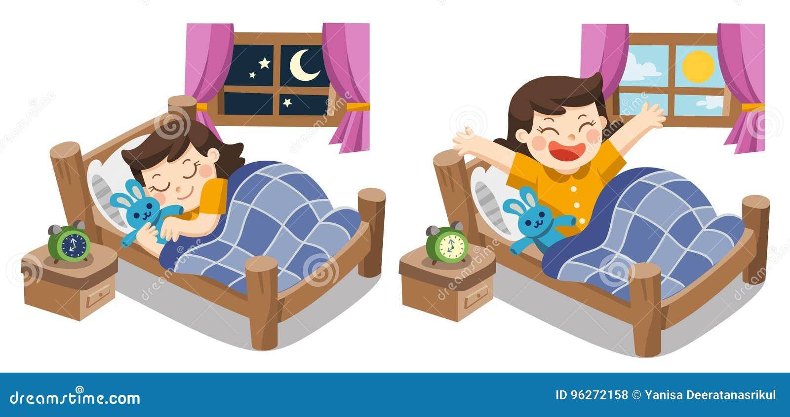 Troszkę dziewczyny dosypianie na dzisiejszym wieczór, dobranoc słodcy sen