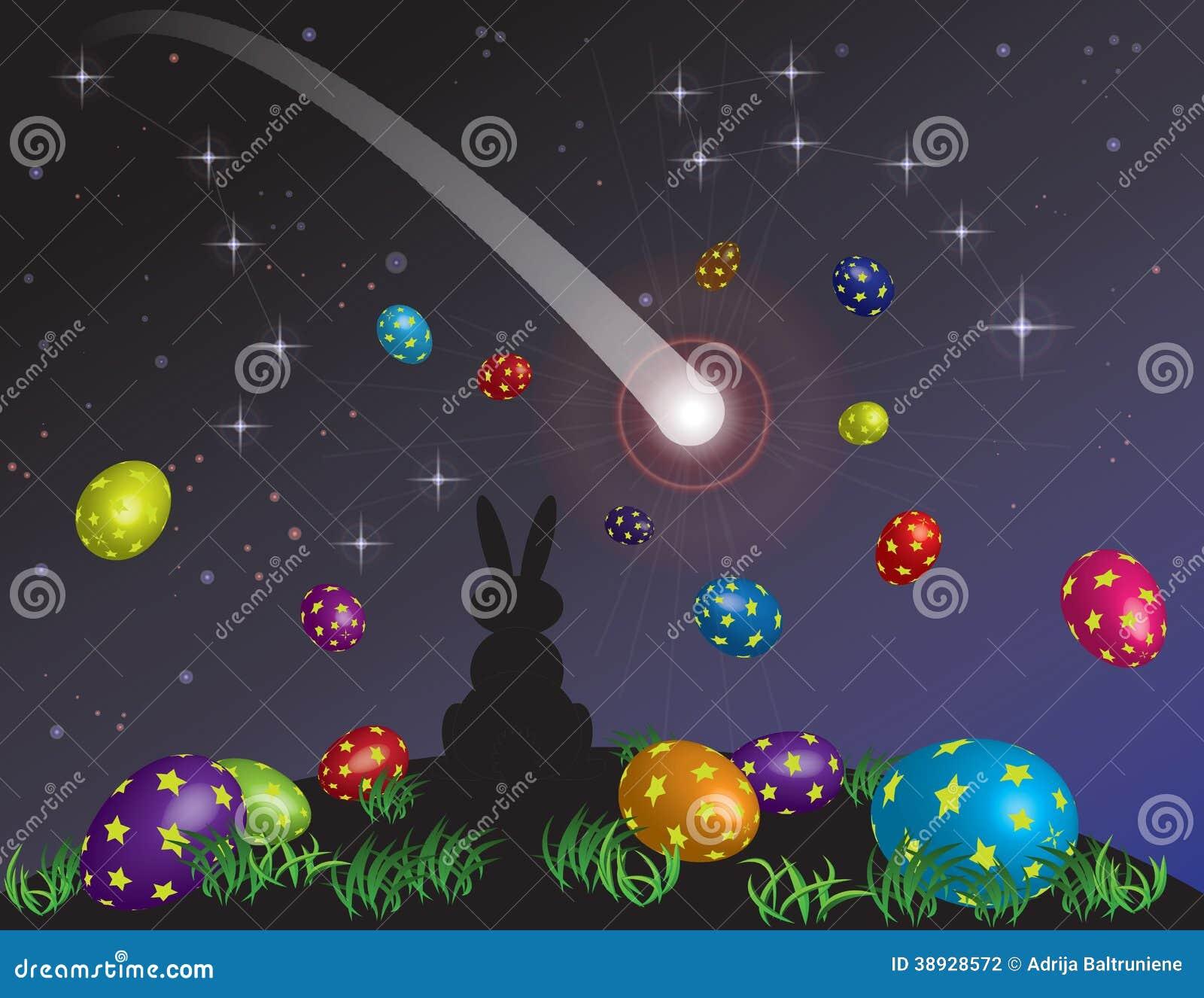 Troszkę królika sen na Wielkanocnej wigilii