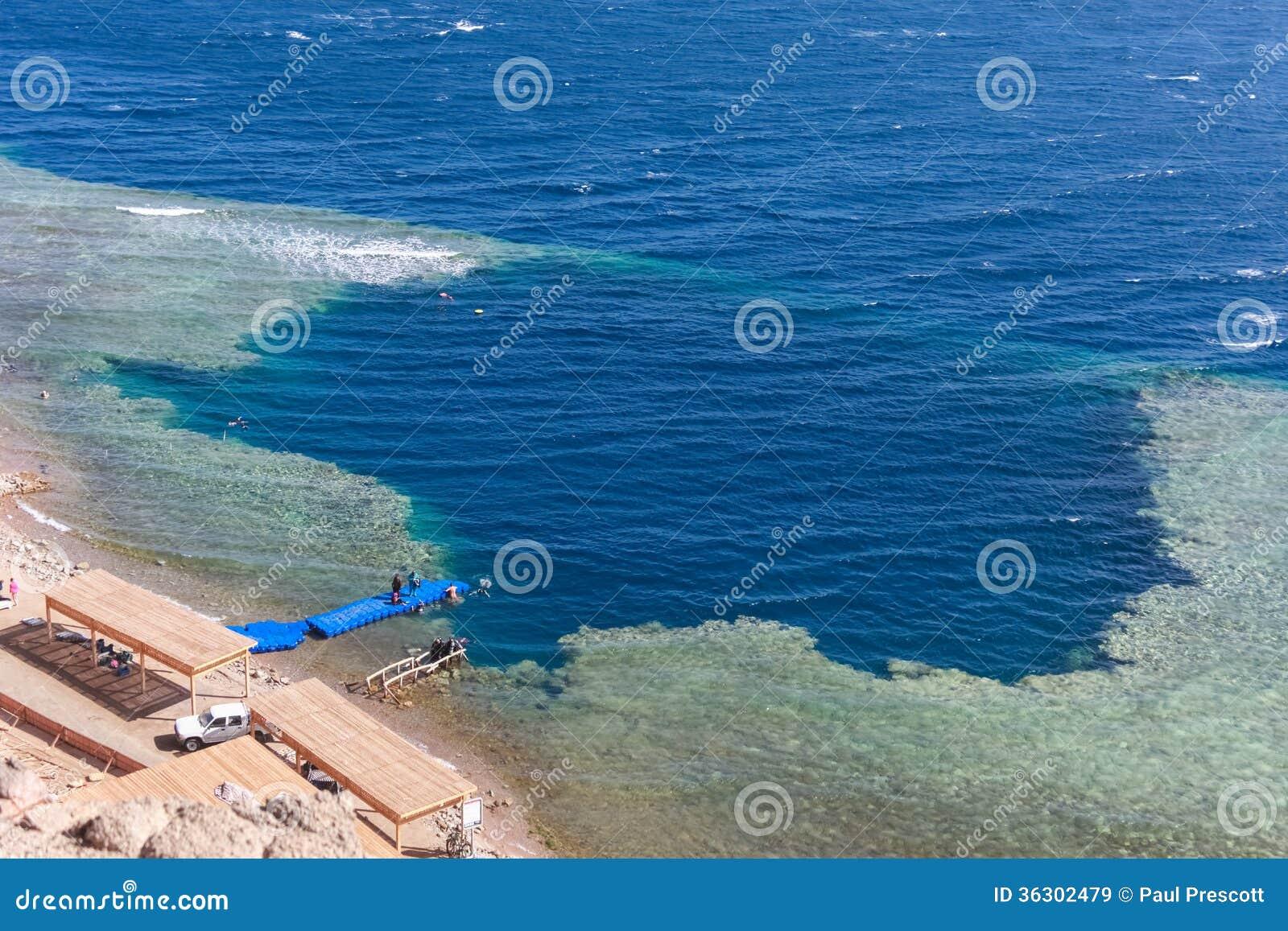 Trou bleu, Dahab, Egypte