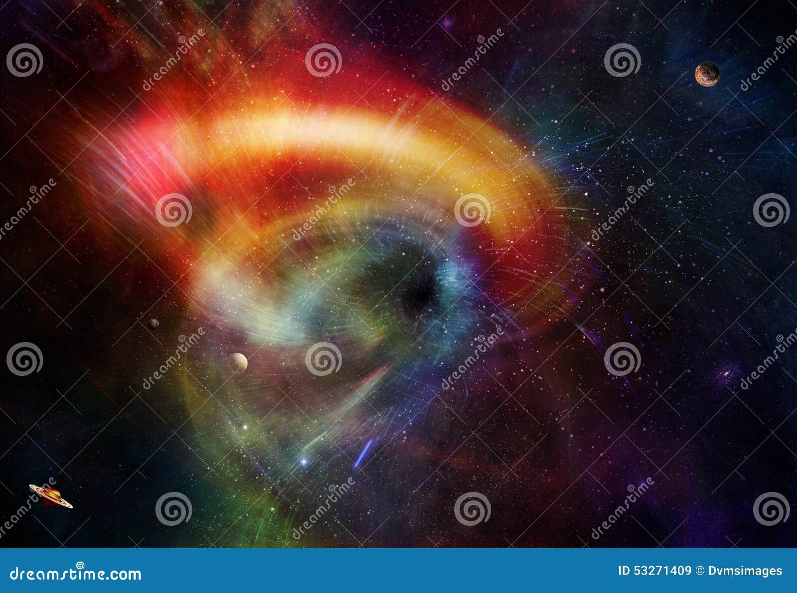 Trou de ver de l espace