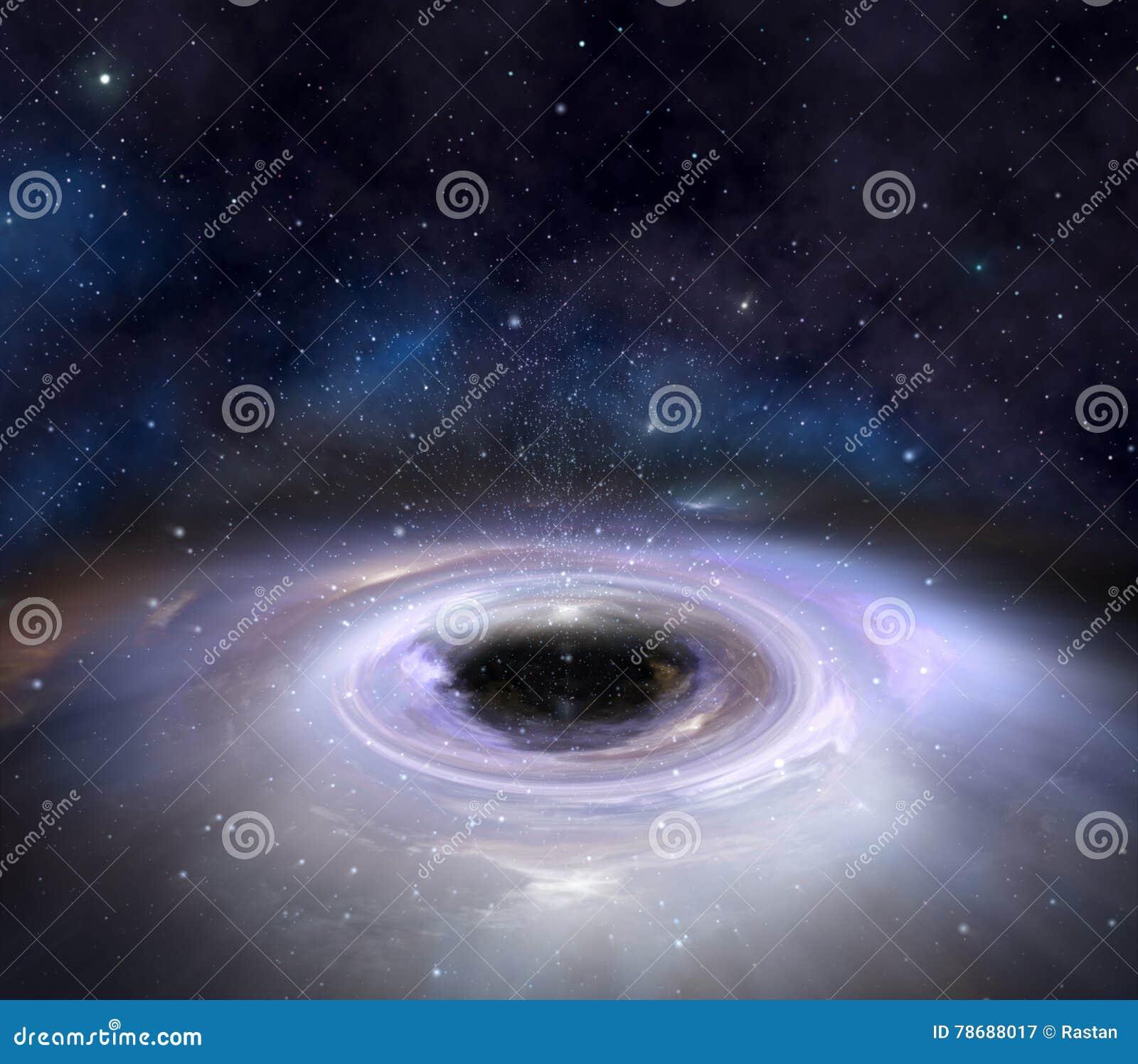 Trou noir dans l espace