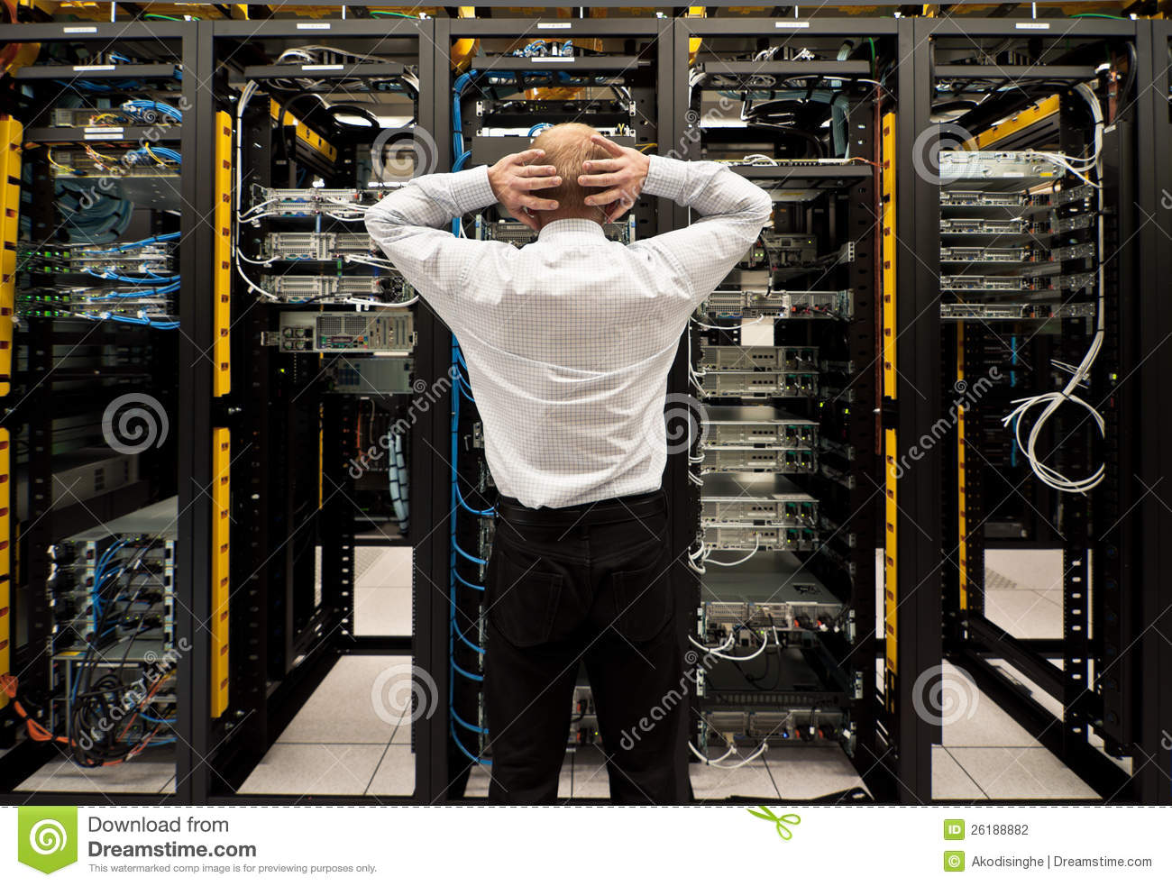 Trouble in datacenter