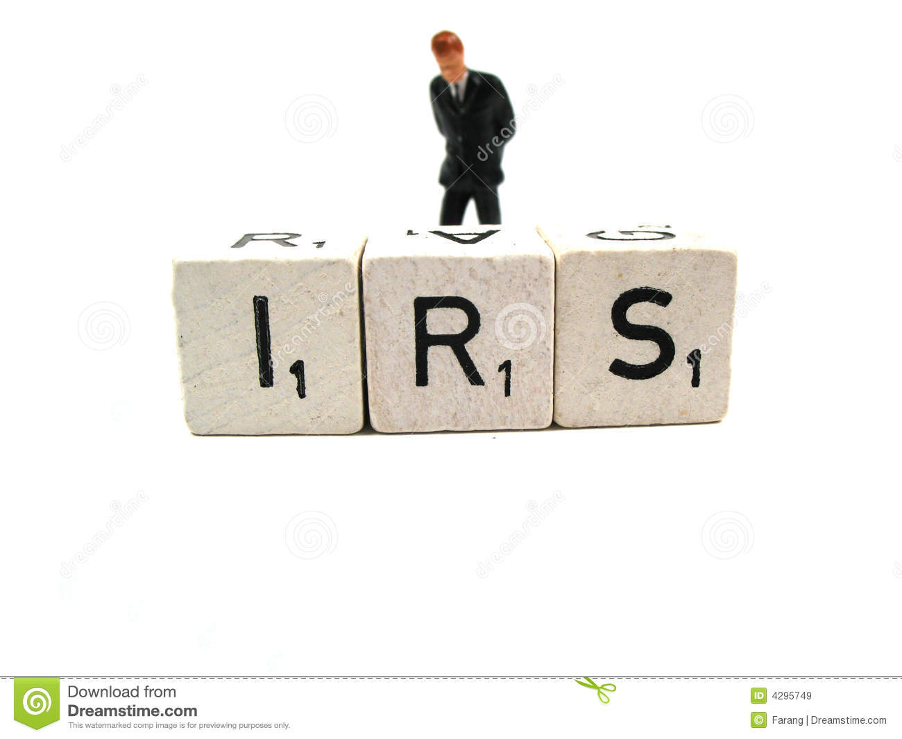 Download Trouble with the IRS stock image. Image of refund, investigation - 4295749