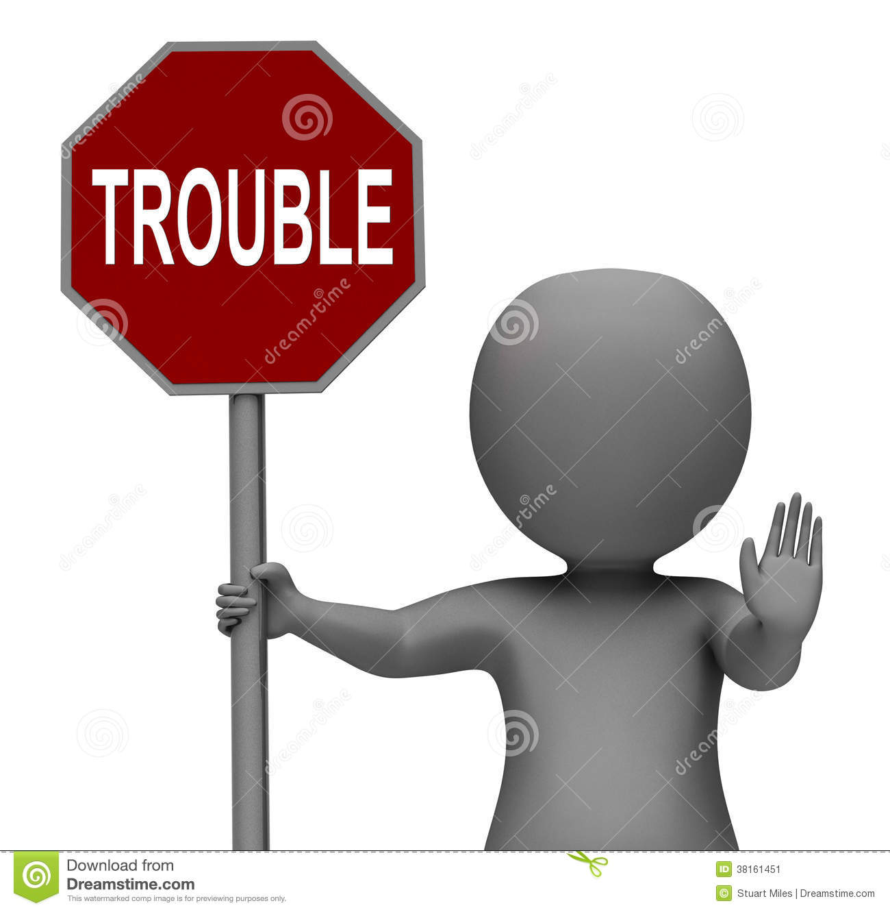 Issues Red Stop Sign Shows Stopping Problems Difficulty Or: Trouble Stop Sign Means Stopping Annoying Problem