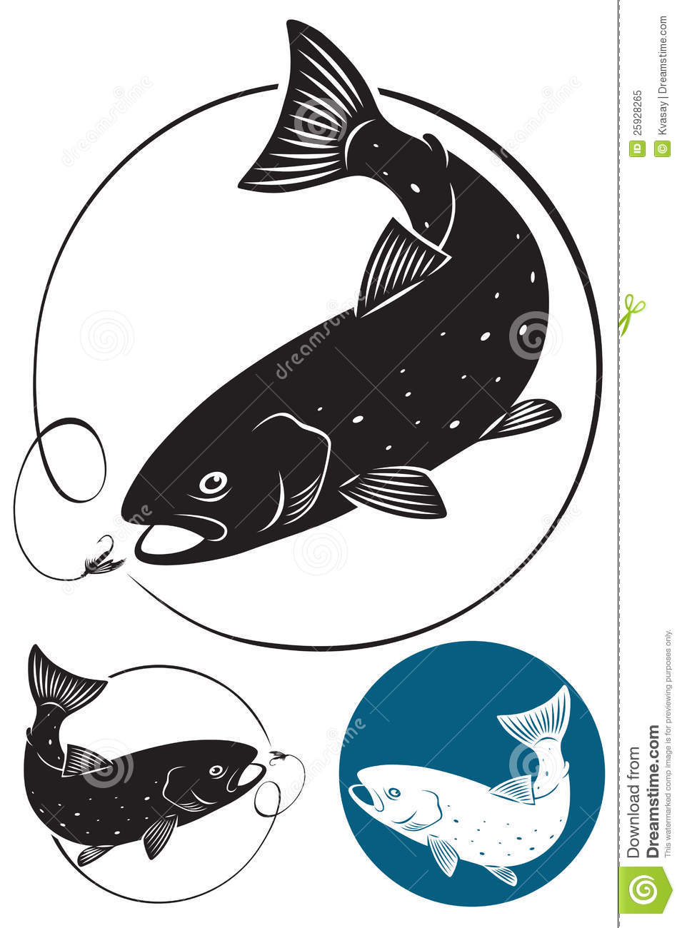 further Walleye Vector Labels as well Trout Fish besides Realistic Blue Marlin Fish Illustration in addition Rainbow Trout Jumping Clipart. on clipart rainbow fish