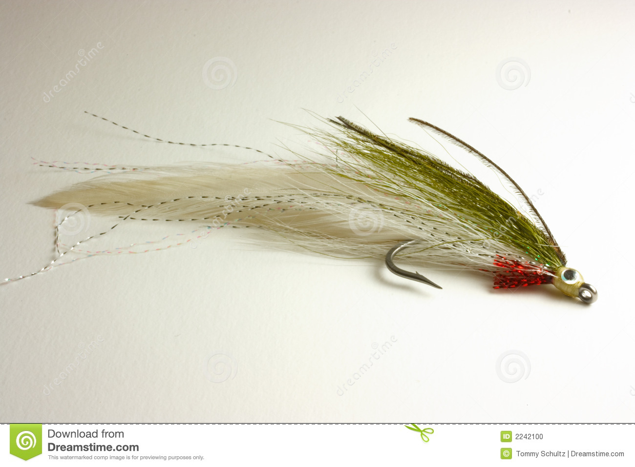 Trout lure for fly fishing stock photo image 2242100 for Fly fishing lures