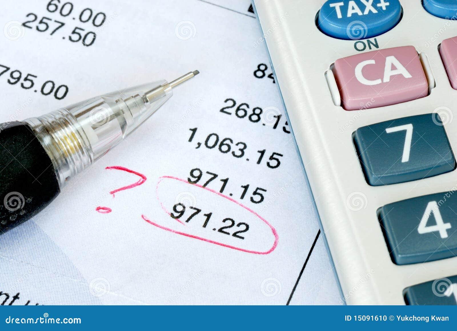 Trouvez une erreur pendant l audit