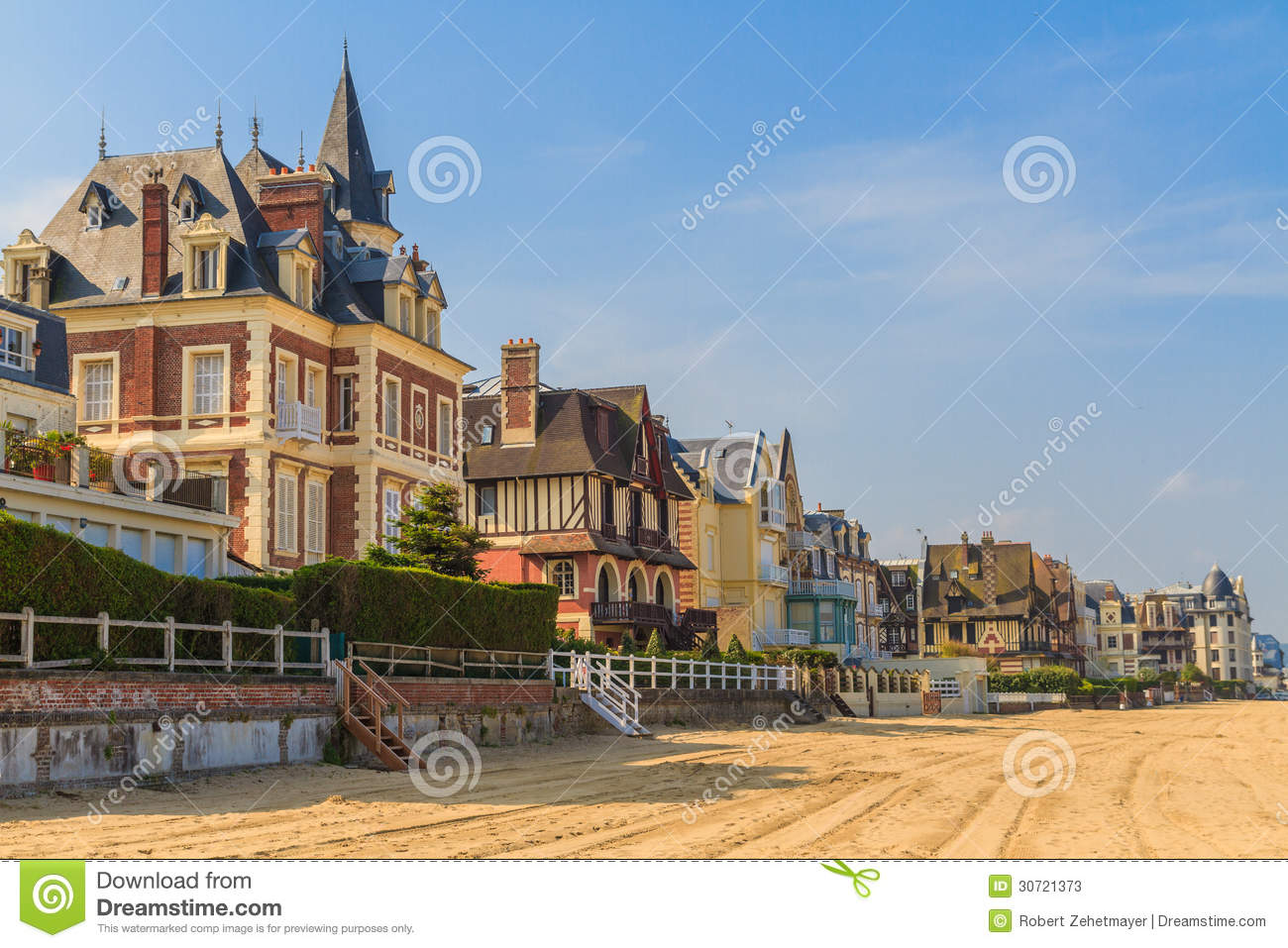 Trouville sur mer beach promenade normandy stock photos - Office de tourisme trouville sur mer ...