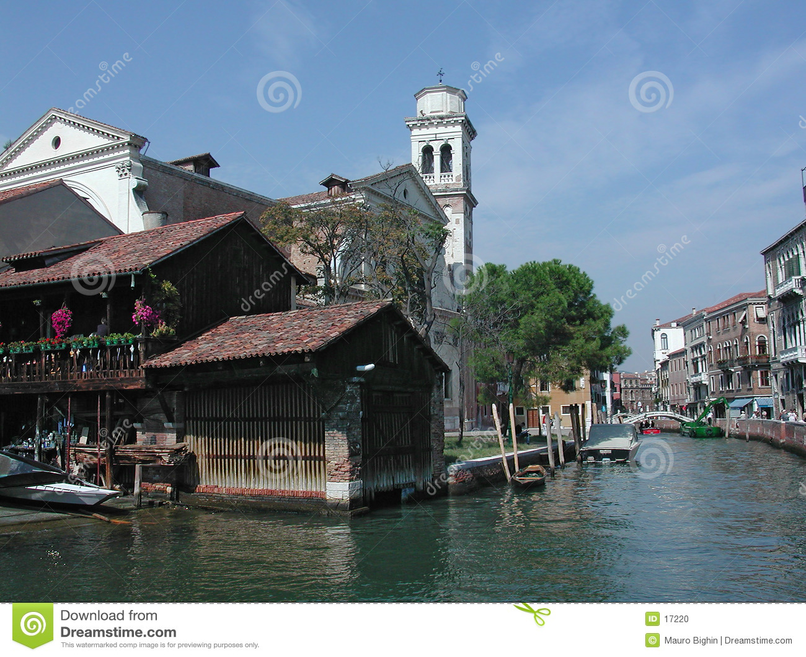 Trovaso Βενετία της Ιταλίας SAN καναλιών