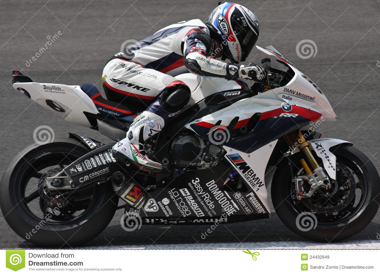 Troy Corser Bmw S1000 Rr Bmw Motorrad Motorsport Editorial Stock