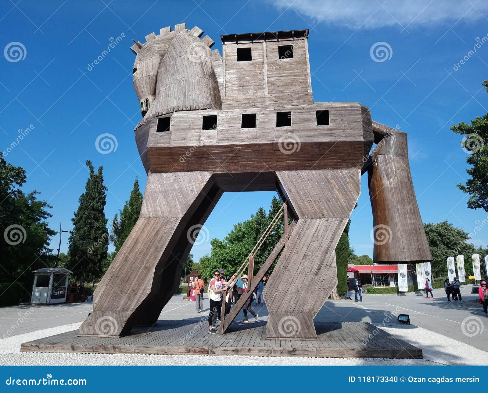 Troy häst från Anatolien