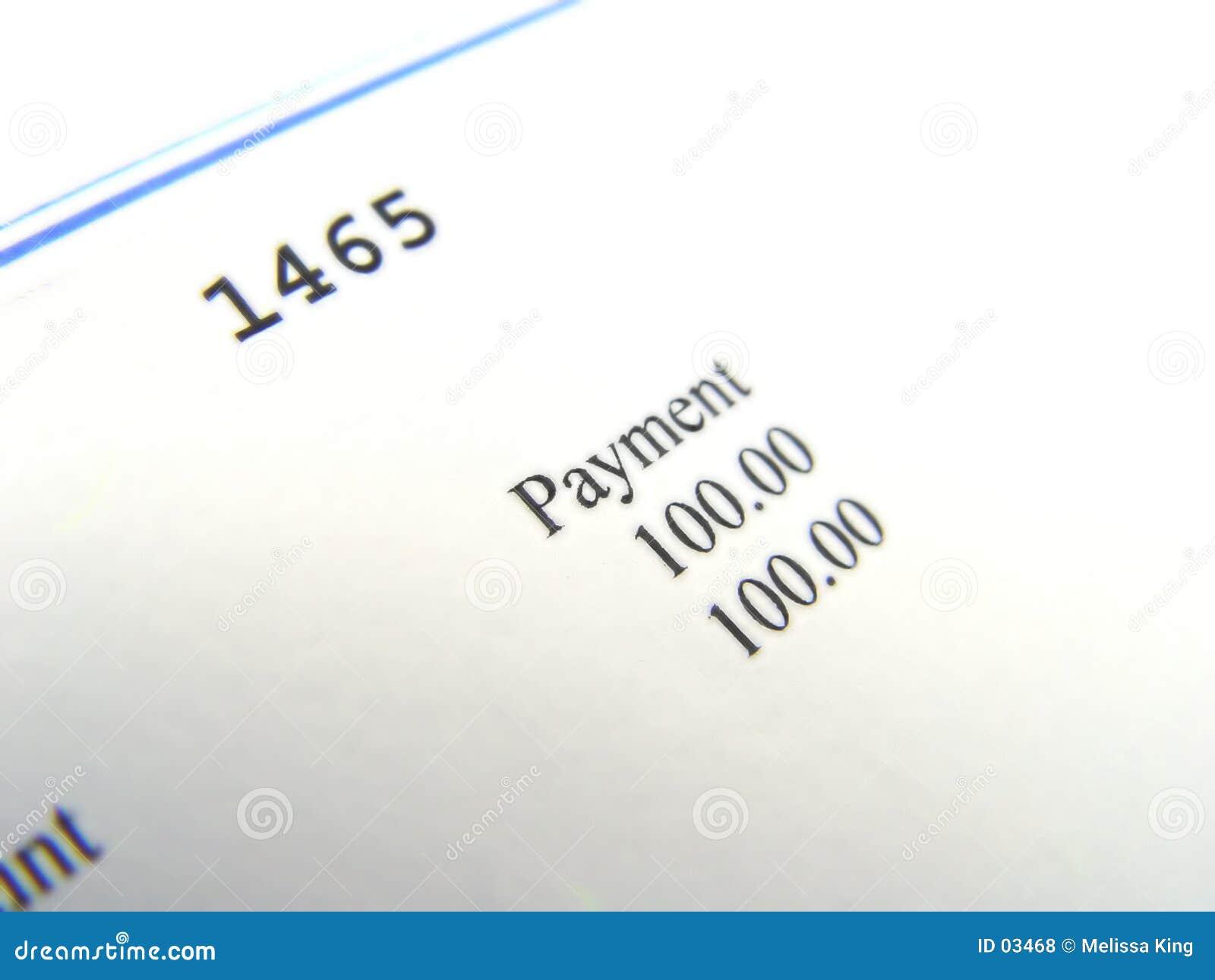 Trozo del cheque