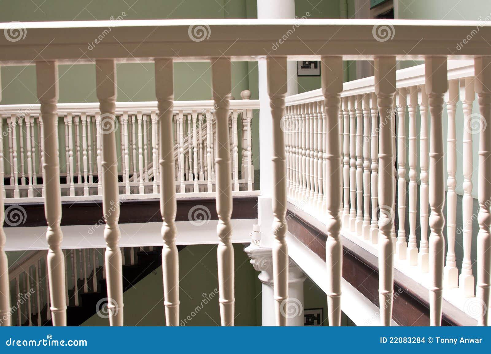Utfärda utegångsförbud för, grinden, trappan och staket royaltyfri ...