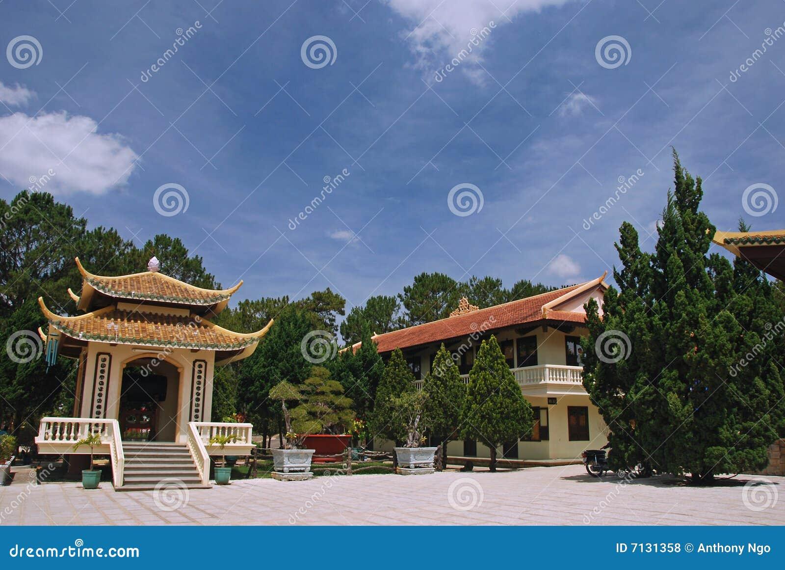 Truc Lam Pagoda, Dalat, Viet Nam