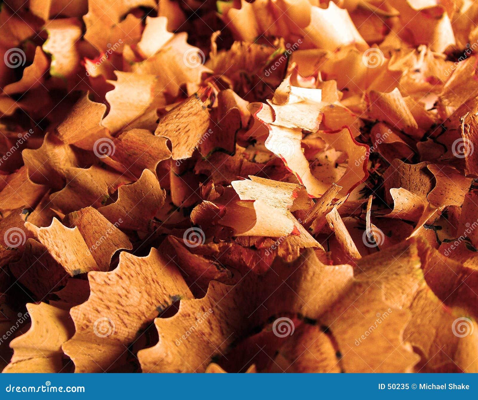Download Trucioli di legno immagine stock. Immagine di matita, legno - 50235