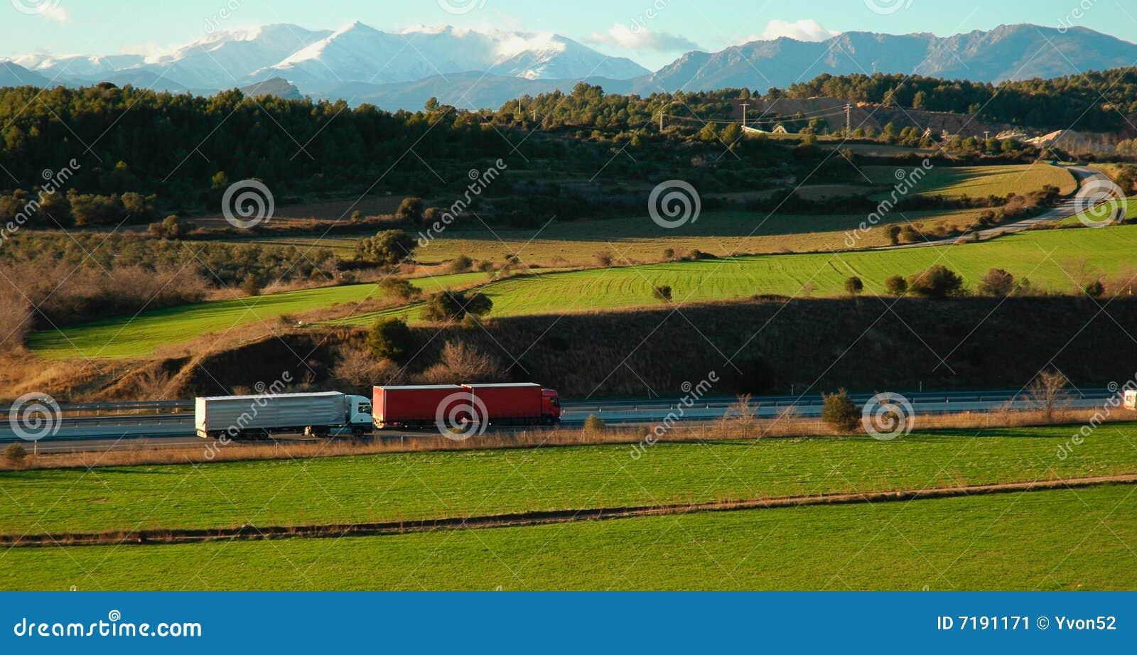 Truck εθνικών οδών